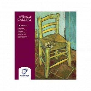 Пастель масляная художественная 24 цвета Royal Talens Van Gogh National Gallery