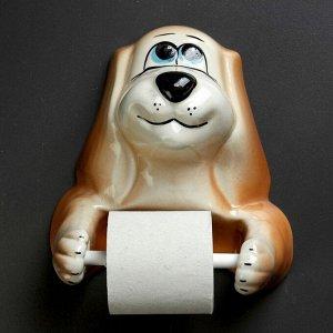 """Фигурный держатель бумаги  """"Собака"""""""