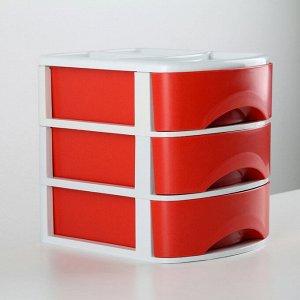 Мини-комод 3-х секционный «Минибокс-3», цвет МИКС