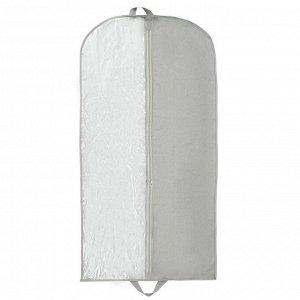 Чехол для одежды, 60?120 см, спанбонд, цвет серый