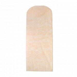 Чехол для одежды 65?160 см, спанбонд, цвет МИКС