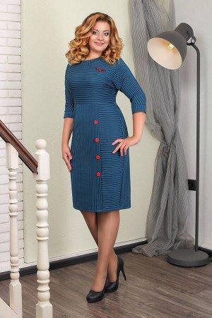Платье 5502.860.4+брошь