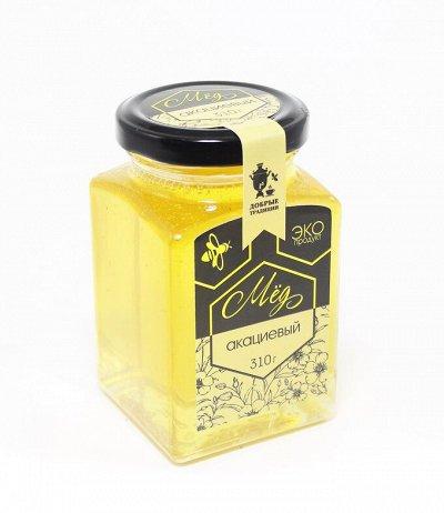 Возрождая добрые традиции: мед, урбеч, варенье и др НОВИНКИ! — МЁД (стекл.банка 260 мл)  НОВИНКИ!!! — Мед