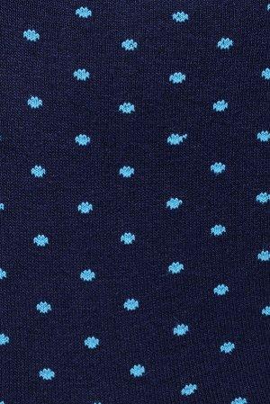 Носки мужские (голубая точка)