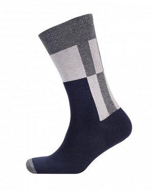 Носки мужские (цветная геометрия)