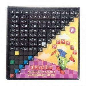 Игра настольная Эрудит черные фишки 10011