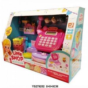 Касса 888-23KDL Little Shop с аксесс., в кор.