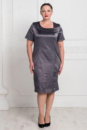 Платье Аэлина (графит)