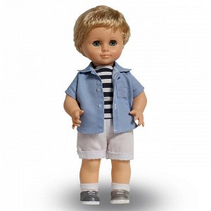 Мальчик 5 Мин. кол-во: 1 Высота куклы: 42 см, Упаковка: картонная коробка, Состав: пластмасса, винил, текстиль, Страна происхождения: Россия, Мальчик Весна 5 из серии «Моя любимая кукла»  - это хорош