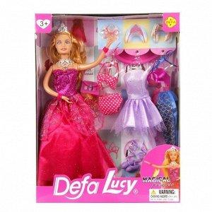 Кукла 8269 с платьями в кор. Defa Lusy