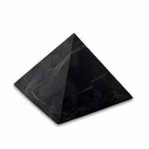 Пирамида из шунгита неполированная 15,5 см