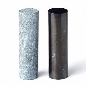 Гармонизатор цилиндрический из шунгита и талькохлорита полированные