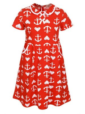 Платье А-образного силуэта для девочки