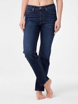 Ультракомфортные eco-friendly straight джинсы с высокой посадкой CON-157 CON-157