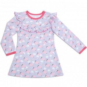 Платье для девочки Лебедушка