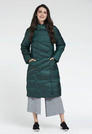 """Пальто """"Альбано""""  зеленый"""