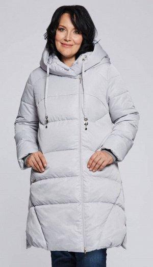 """Пальто """"Каллисто""""  светло-серый"""
