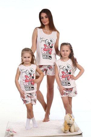 Костюм майка + шорты