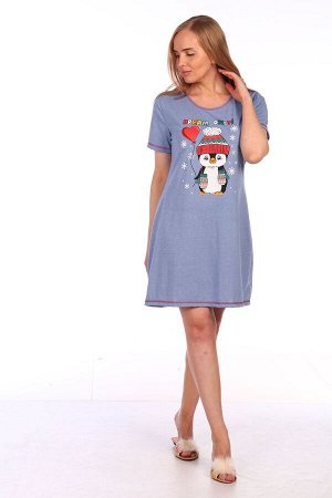 """Платье Платье """"Пингвин"""" (М-503). Кулирка (хлопок + п/э)"""