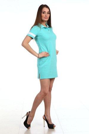Платье поло РАСЦВЕТКА В АССОРТИМЕНТЕ