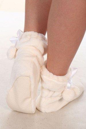 Носки-сапожки из велсофта детские
