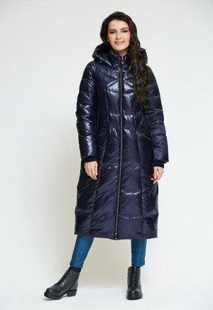 """Пальто """"Мадейра""""  темно-синий"""