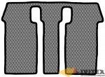 Ковры 3 ряд (с вырезами под крепление 3 ряда) 2 кресла Toyota Esquire / Noah (2014 - нв) правый руль
