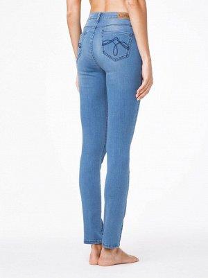 Ультракомфортные прямые джинсы с высокой посадкой CON-47 CON-47