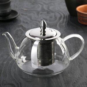 Чайник заварочный «Жак», 700 мл, с металлическим ситом