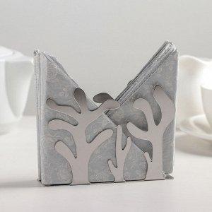 Салфетница «Танец леса», нержавеющая сталь