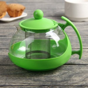 Чайник заварочный «Яркость», 750 мл, матовый, цвет МИКС