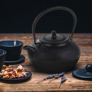 Чайник с ситом «Восточная ночь», 1,5 л, цвет чёрный