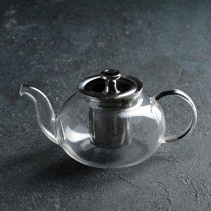 Чайник заварочный «Валенсия», 600 мл, с металлическим ситом