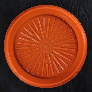 Блюдо для торта и пирожных с крышкой, d=31 см, цвет МИКС