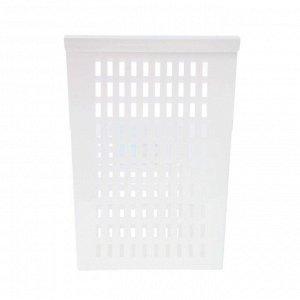 Корзина подвесная на дверь , 25х13х36 см, цвет белый