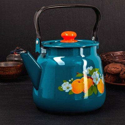 Посуда для дома на любой вкус — Чайники — эмаль
