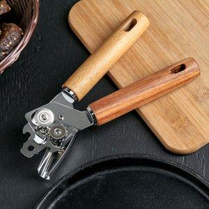 Нож консервный Доляна «Дорадо», 21 см, ручки из бразильской гевеи