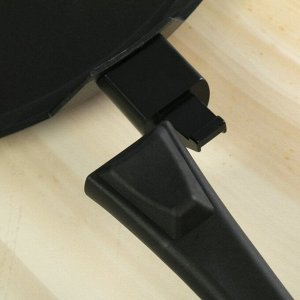 Сковорода-лавашница 35 см «Традиция», съёмная ручка