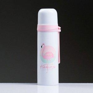 """Термос """"Flamingo"""", 500 мл, сохраняет тепло 12 ч, 6.5х24 см , микс"""