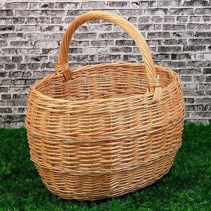 Корзина «Грибная», №5, 40?34?42 см, 20 л, ручное плетение, ива