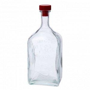 """Бутылка стеклянная 1,2 л """"Штоф"""""""