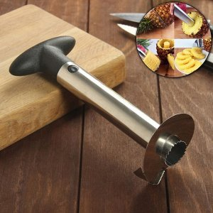 Фигурный нож для ананаса/нарезки фруктов, 9?25 см