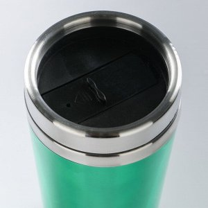 "Термокружка ""Тюран"", 450 мл, сохраняет тепло 3 ч, микс, 8х18 см"