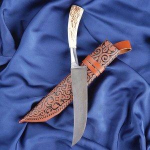 Пчак Шархон, рукоять из рога косули, гарда из олова 2460238