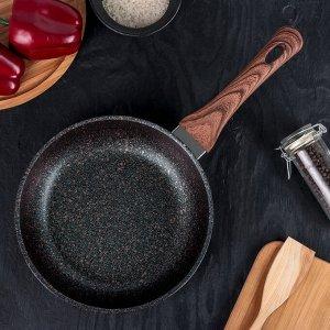 Сковорода Granit ultra, d=22 см, с ручкой, антипригарное покрытие