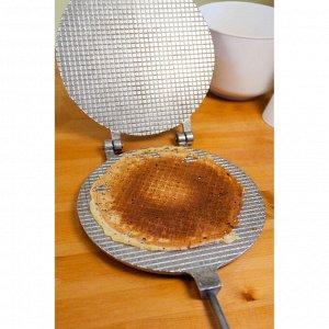 """Форма для выпечки вафель """"Круглая"""", d-22 см"""