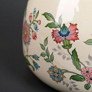 Чайник со свистком «Луговые цветы» 3 л, фиксированная ручка