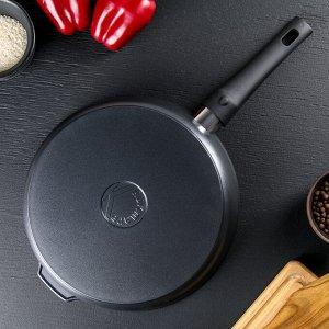 Сковорода «Традиция», 28*6,5 см, съемная ручка, антипригарное покрытие