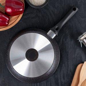 Сковорода Granit ultra, d=24 см, с ручкой, антипригарное покрытие