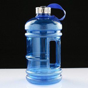 "Фляжка-бутылка для воды ""Баллон"", 2350мл, микс, 13х26 см"